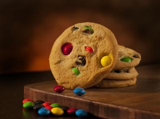 monster (candy) cookies